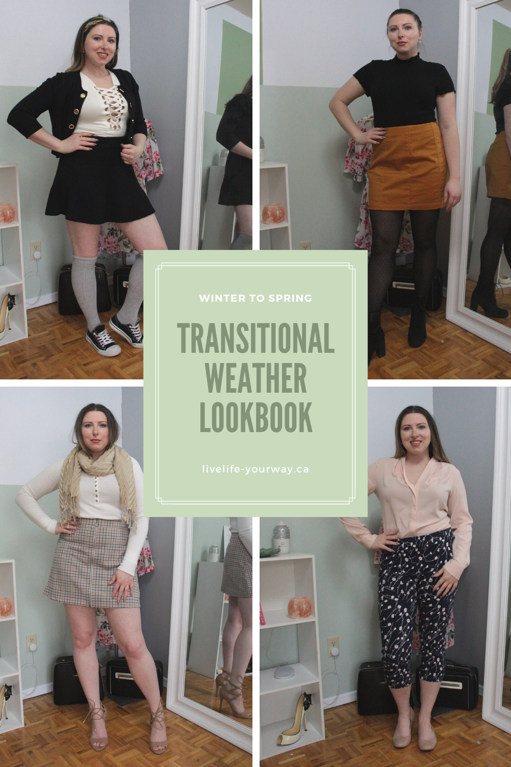 Transitional Weather Lookbook Pinterest